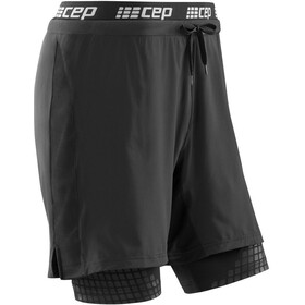 cep 2-in-1 Trainings Shorts Dames, black